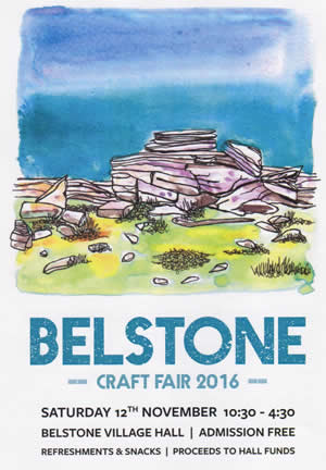 Belstone Craft Fair – Saturday 12th November 2016