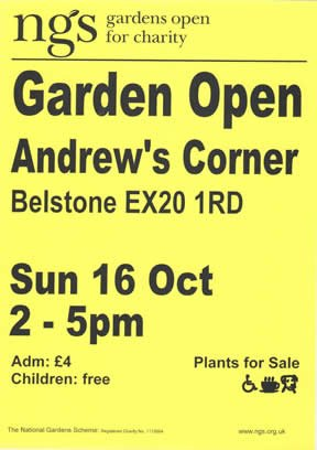 Garden Open – Andrews Corner