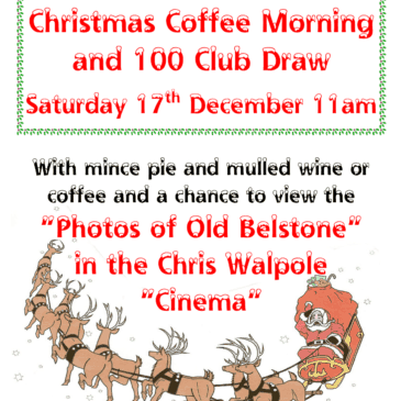 Belstone Christmas Cafe 17th December