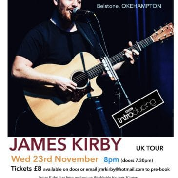 James Kirby – Wednesday 23 November