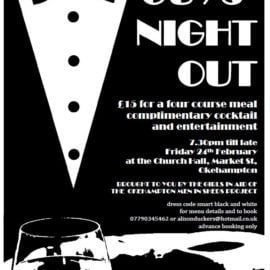 Guys' Night Out – Friday 24th February