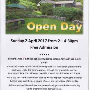 Bernard's Acre Open Day