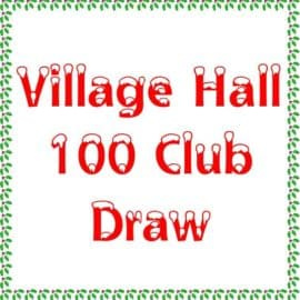 Belstone Village Hall 100 Club 2018