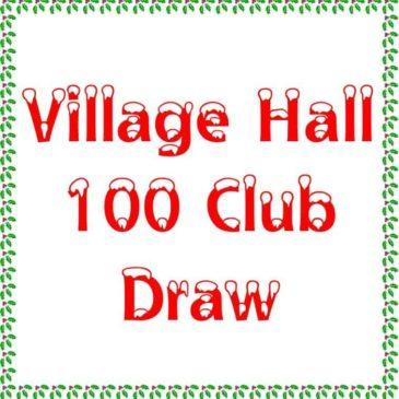 100 Club Draw & Coffee Morning Saturday 16th December