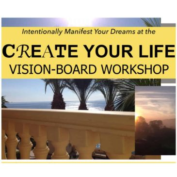 Vision Board Workshop – 1st or 15th March 2018