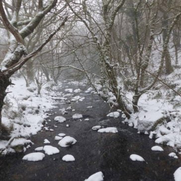Belstone in the Snow – A Gallery