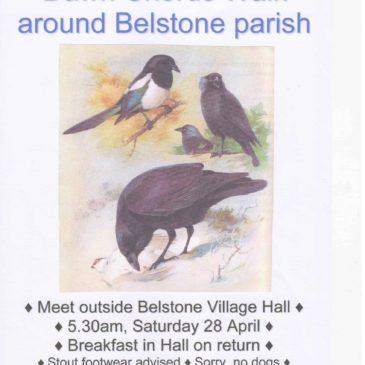 Belstone – Dawn Chorus Walk – 28 April