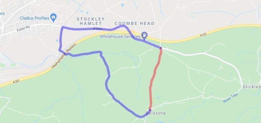 Brenamoor Road Closure Diversion